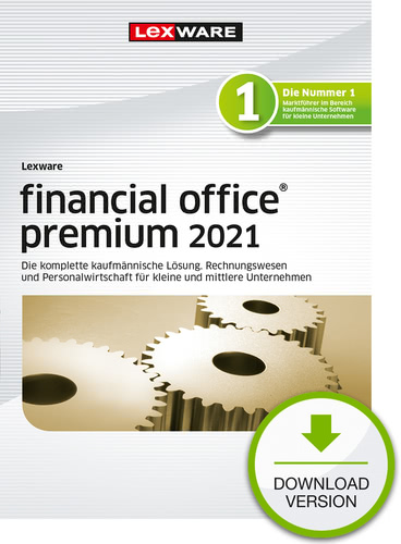 Lexware financial office premium 2021 – Jahresversion (365 Tage) (Download), PC