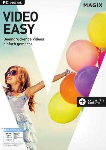 Verpackung von Magix Video easy (2017) [PC-Software]