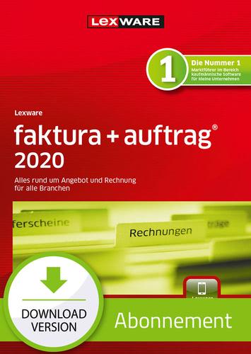 Lexware faktura+auftrag 2020- Abo Version (Download), PC