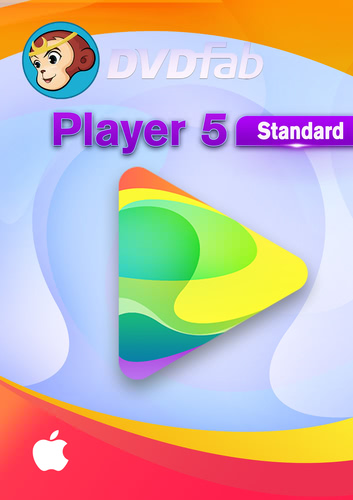 DVDFab Player 5 für MAC – 24 Monate(24 Monate) (Download), MAC