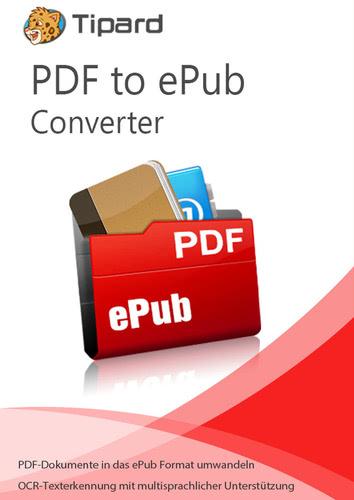 Verpackung von Tipard PDF to ePub Converter - lebenslange Lizenz [PC-Software]