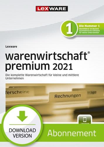Verpackung von Lexware warenwirtschaft premium 2021 - Abo Version [PC-Software]