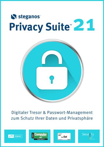 Verpackung von Steganos Privacy Suite 21 [PC-Software]
