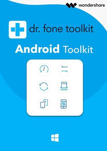 Verpackung von Wondershare Dr. Fone Toolkit für Android (1 Jahr/5 Geräte) [PC-Software]