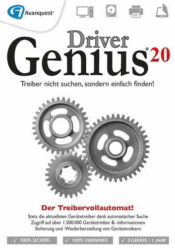 Verpackung von Driver Genius 20 / 3 PC - 1 Jahr [PC-Software]