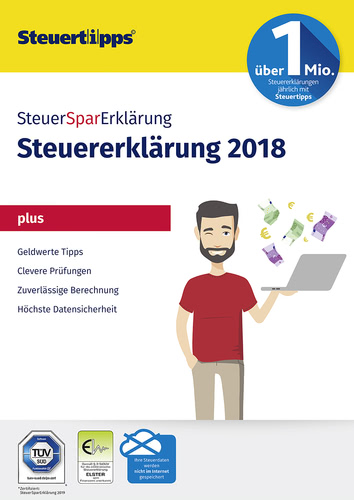 Verpackung von SteuerSparErklärung Plus 2019 (für Steuerjahr 2018) [PC-Software]