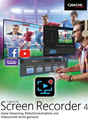Verpackung von Screen Recorder 4 [PC-Software]