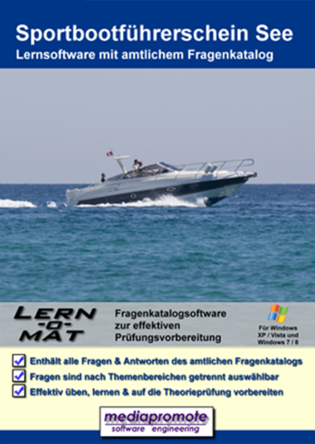 Verpackung von Lern-O-Mat Sportbootführerschein See [PC-Software]