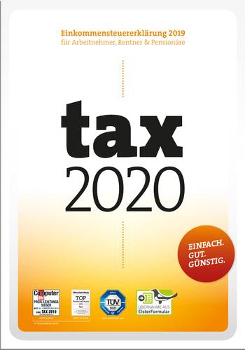 Verpackung von tax 2020 (für Steuerjahr 2019) [PC-Software]