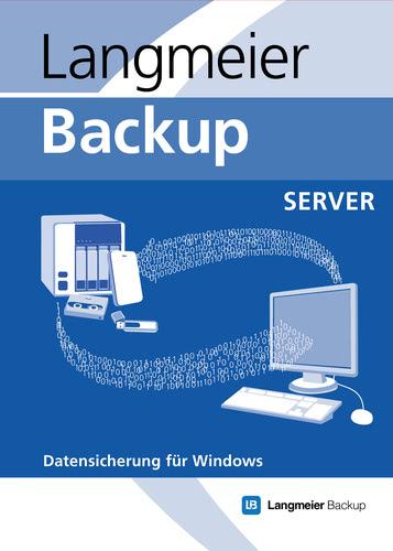 Verpackung von Langmeier Backup 10 Server [PC-Software]