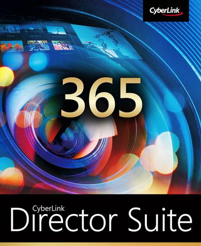 Verpackung von CyberLink Director Suite 365 (2021) - 12 Monate [PC-Software]