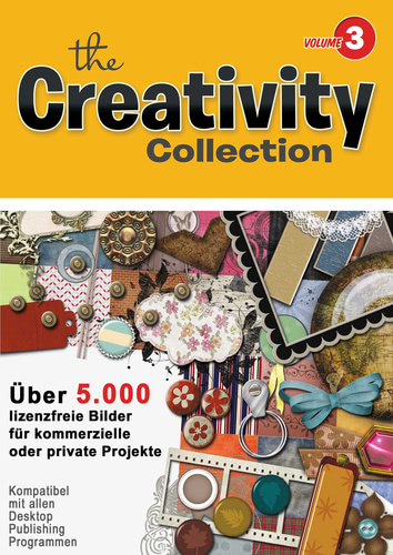 Verpackung von Creativity Collection Volume 3 für Mac [Mac-Software]