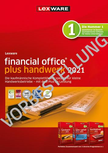 Verpackung von Lexware financial office plus handwerk 2022 – Jahresversion (365 Tage) [PC-Software]