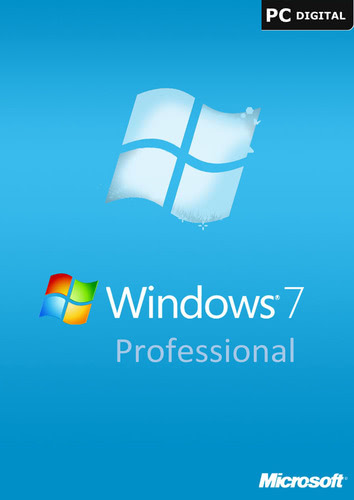Verpackung von Windows 7 Professional OEM Key (32/64 Bit) [PC-Software]
