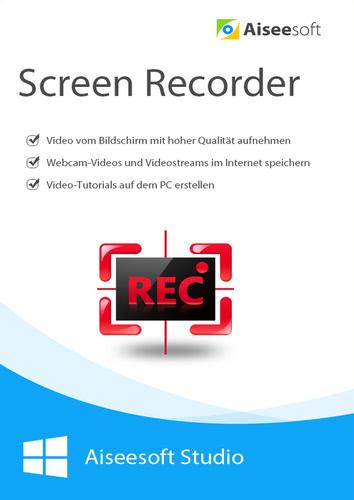 Verpackung von Aiseesoft Screen Recorder (Lebenslange Lizenz) [PC-Software]