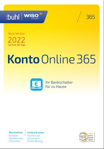 Verpackung von WISO Konto Online 365 (Version 2022) [PC-Software]