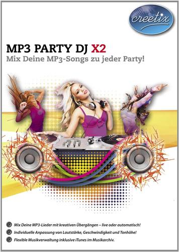 Verpackung von MP3 Party DJ X2 [PC-Software]