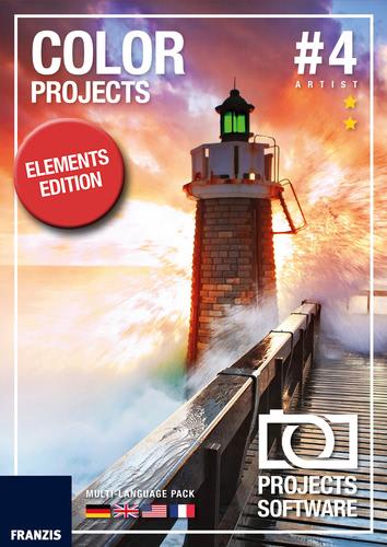 Verpackung von COLOR projects 4 elements für Mac [Mac-Software]