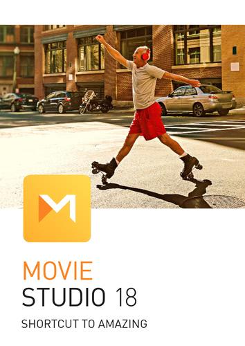 Verpackung von Movie Studio 18 [PC-Software]