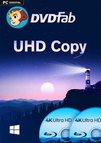 Verpackung von DVDFab UHD Copy (1 User / 2 Jahre) PC [PC-Software]