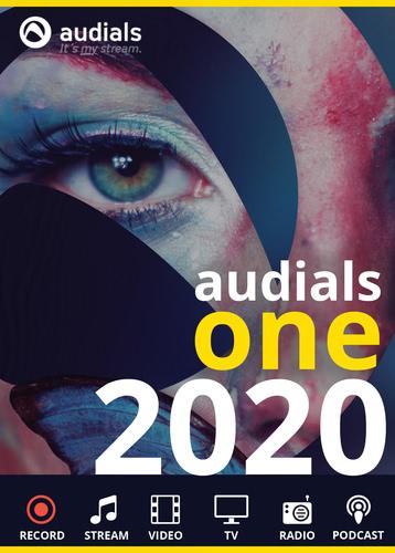 Verpackung von Audials One 2020 [PC-Software]