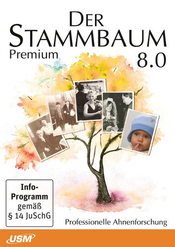 Verpackung von USM Stammbaum 8 Premium [PC-Software]