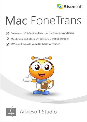 Verpackung von FoneTrans – iOS Transfer Mac Lebenslange Lizenz [Mac-Software]