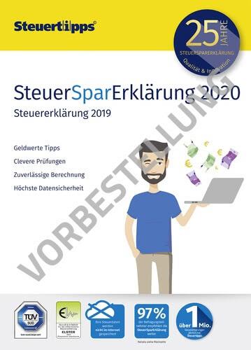 Verpackung von SteuerSparErklärung 2021 (für Steuerjahr 2020) - Vorbestellung [PC-Software]