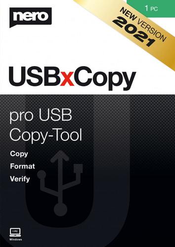 Verpackung von Nero USBxCopy 2021 (1 PC) [PC-Software]