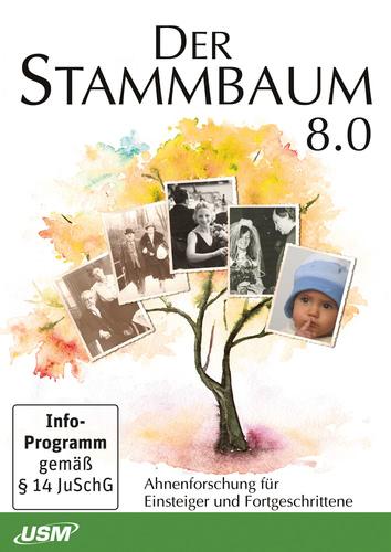 Verpackung von USM Stammbaum 8 [PC-Software]