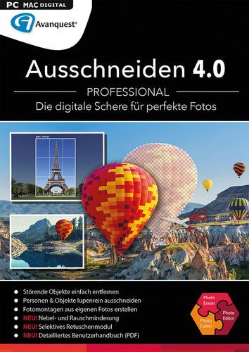 Verpackung von Ausschneiden 4.0 Professional (Mac) [Mac-Software]