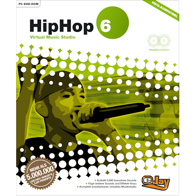 Verpackung von eJay eJay HipHop 6 [PC-Software]