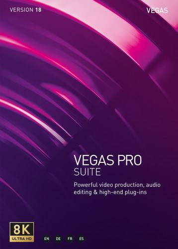Verpackung von Vegas Pro 18 Suite [PC-Software]