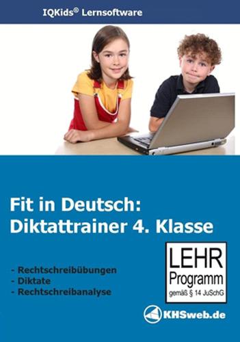 Verpackung von Fit in Deutsch: Diktattrainer - 4. Klasse [PC-Software]