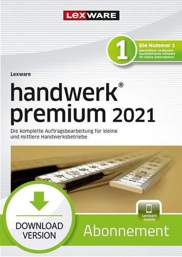 Verpackung von Lexware handwerk premium 2021 - Abo Version [PC-Software]