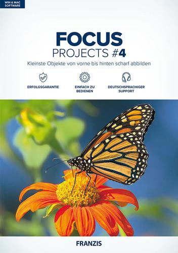 Verpackung von FRANZIS FOCUS projects 4 [MULTIPLATFORM]