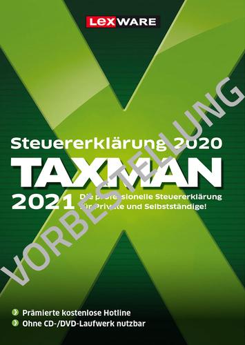 Verpackung von TAXMAN 2022 (für Steuerjahr 2021) - Vorbestellung [PC-Software]