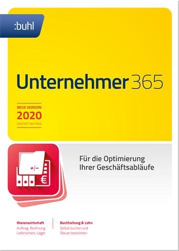 Verpackung von WISO Unternehmer 365 [PC-Software]