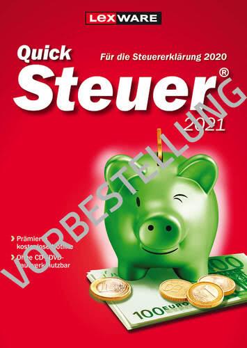 Verpackung von Lexware QuickSteuer 2022 (für Steuerjahr 2021) - Vorbestellung [PC-Software]