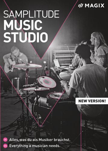 Verpackung von MAGIX Samplitude Music Studio (2021) [PC-Software]