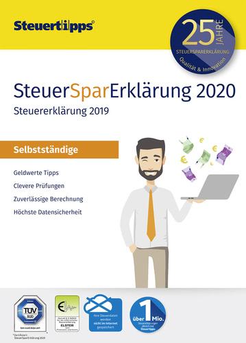 Verpackung von SteuerSparErklärung Selbstständige 2020 (für Steuerjahr 2019) [PC-Software]