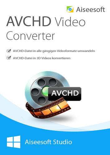 Verpackung von Aiseesoft avchd video converter - Lebenslange Lizenz [PC-Software]
