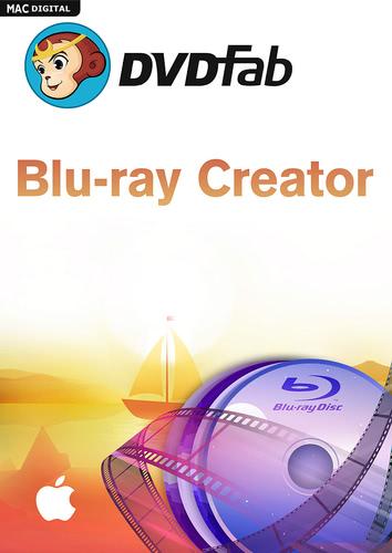 Verpackung von DVDFab Blu-ray Creator (24 Monate) für Mac [Mac-Software]