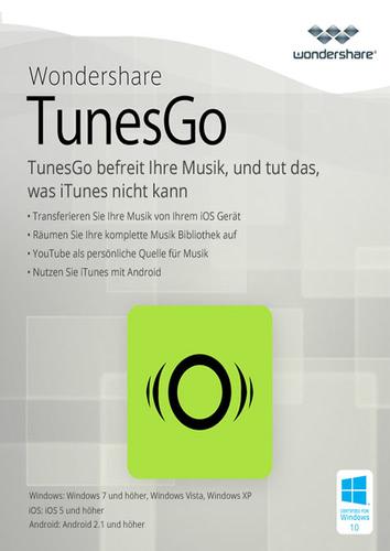 Verpackung von Wondershare TunesGo (Win) - Android Geräte [PC-Software]