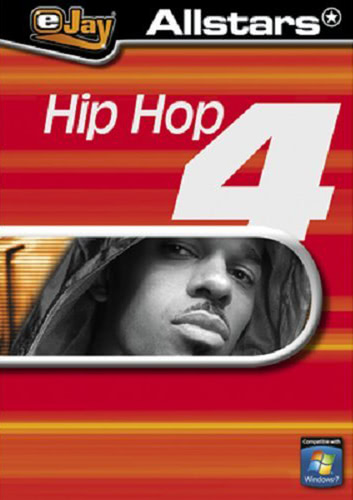 Verpackung von eJay Allstars Hip Hop 4 [PC-Software]