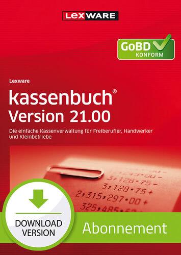 Verpackung von Lexware kassenbuch Version 21.00 (2022) - Abo Version [PC-Software]