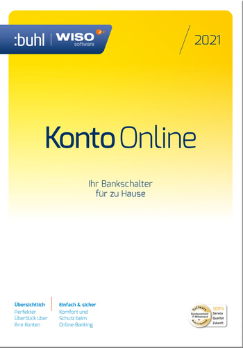 WISO Konto Online (Version 2021) (Download), PC