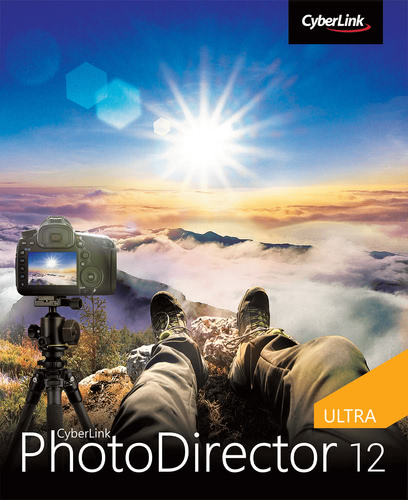Verpackung von CyberLink PhotoDirector 12 Ultra [PC-Software]