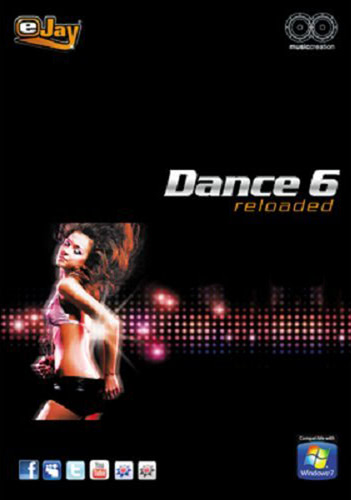 Verpackung von eJay Dance 6 reloaded [PC-Software]