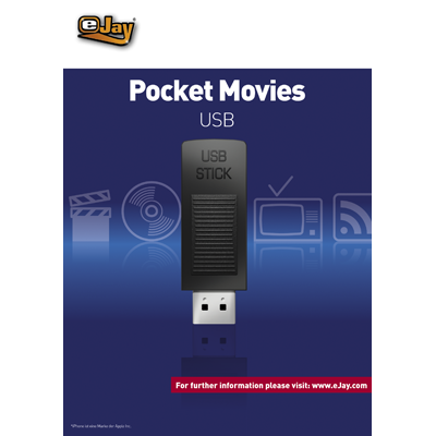 Verpackung von eJay eJay Pocket Movies für USB [PC-Software]
